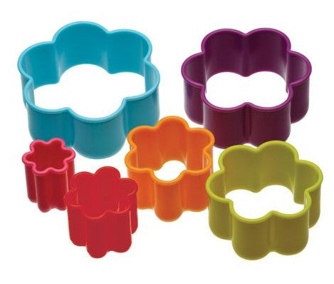 Plastic cookie cutter - flower