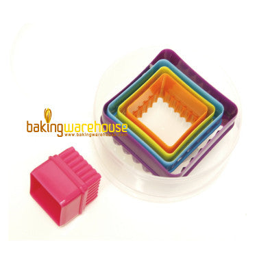 Plastic cookie cutter-square