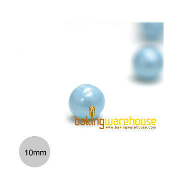 Chocolate Pearl 10mm -Shimmer blue