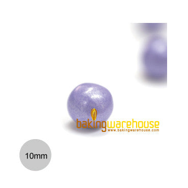 Chocolate Pearl 10mm -Shimmer Lavender