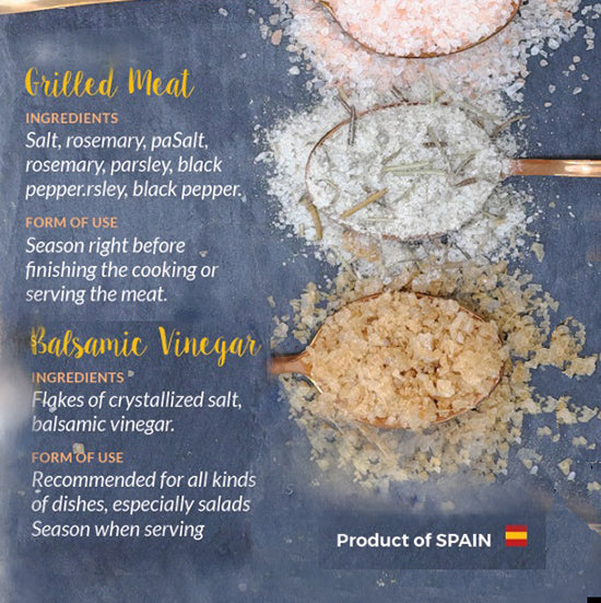 Grilled Meat Salt | Salt with spices