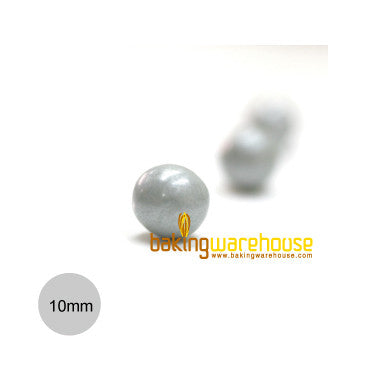 Chocolate Pearl 10mm -Silver