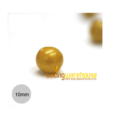 Chocolate Pearl 10mm -Gold