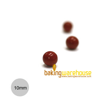 Chocolate Pearl 10mm -Red