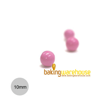 Chocolate Pearl 10mm -Hot Pink