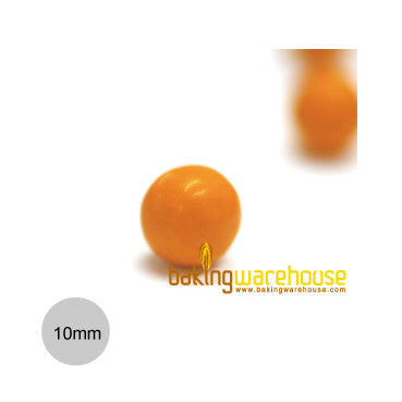 Chocolate Pearl 10mm -Orange