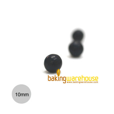 Chocolate Pearl 10mm -Black