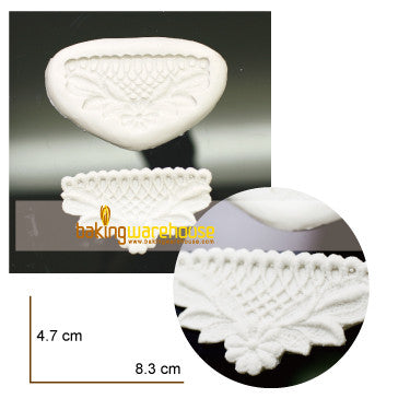 Silicon lace mould - Flower lattice