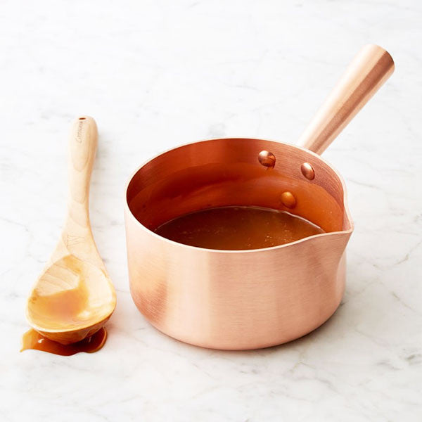 Sugar sauce pan Copper handle
