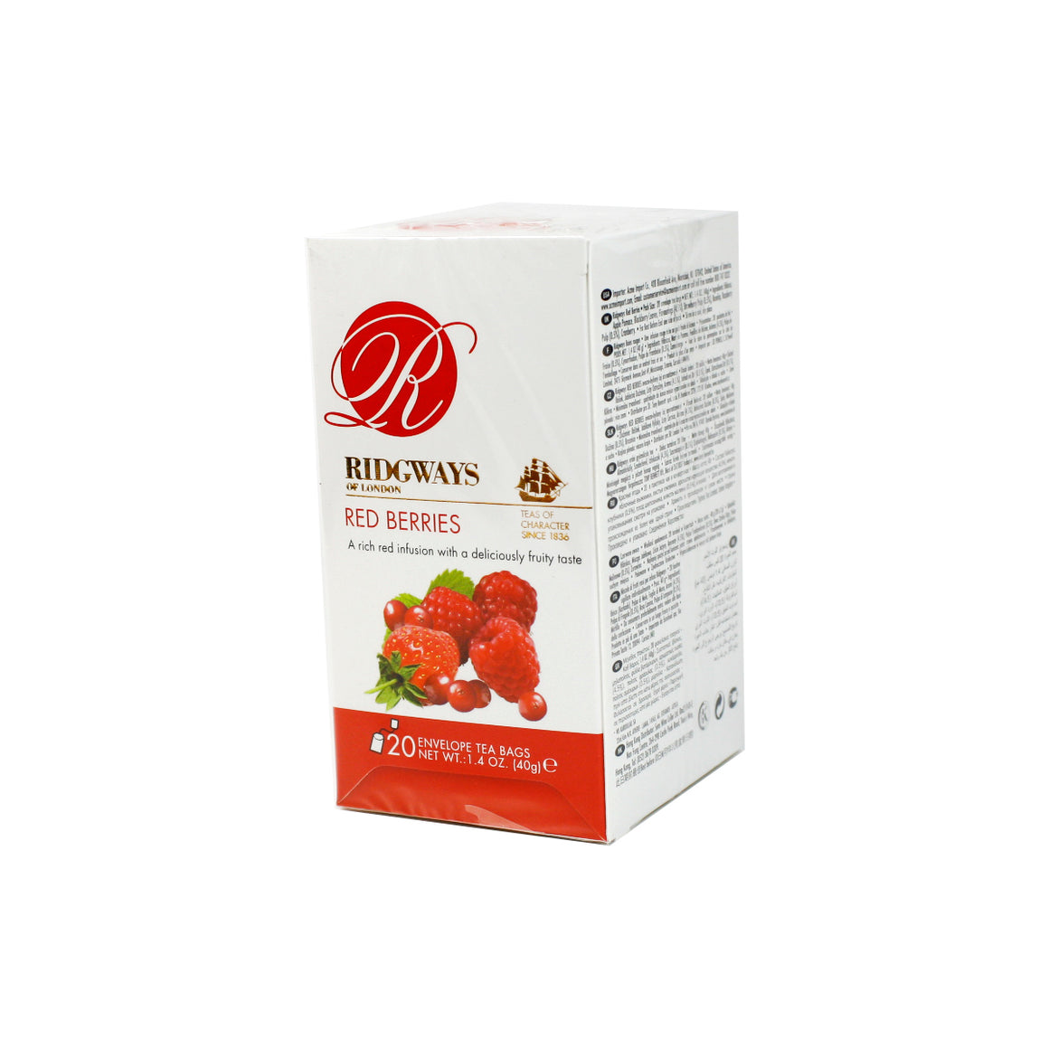 Red Berries Tea bags