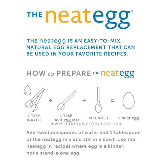 Neat egg | egg replacer for baking | Hong kong