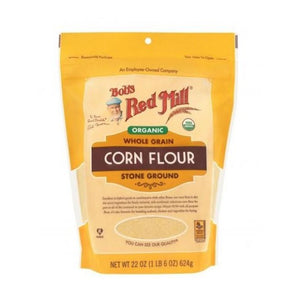 Organic Whole grain stone ground CORN FLOUR