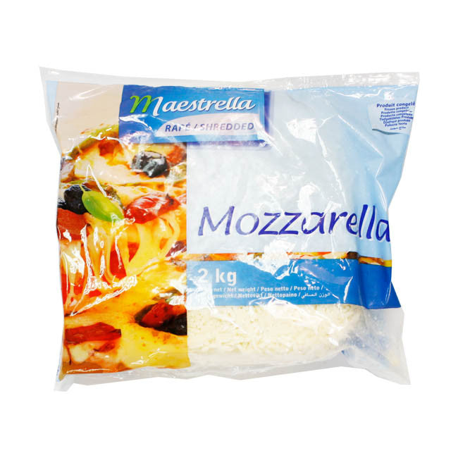 Shreded Mozzarella cheese 2kg