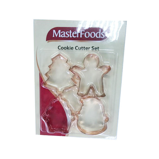 Christmas cookie cutter set  copper