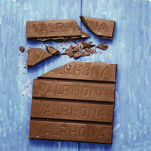 40% Valrhona block milk chocolate