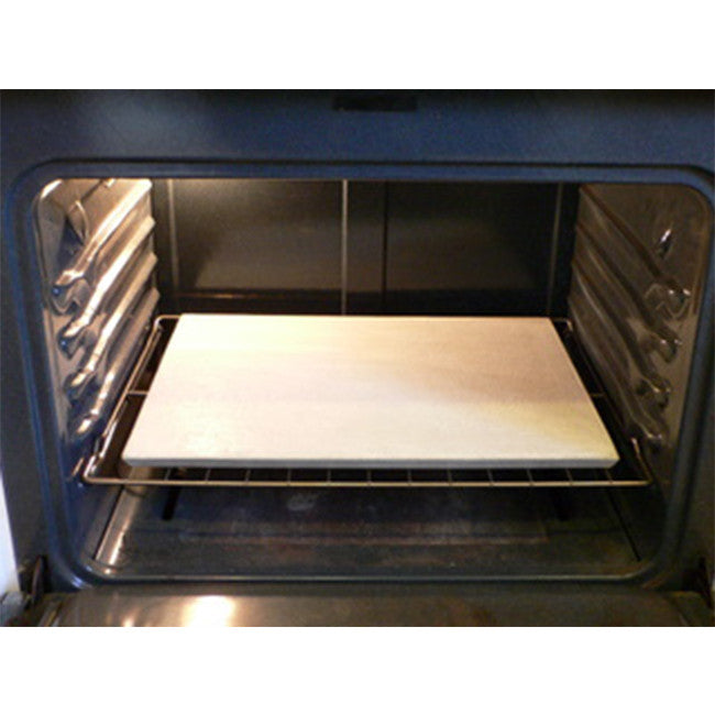 Oven pizza stone-rectangle 30 x 40cm