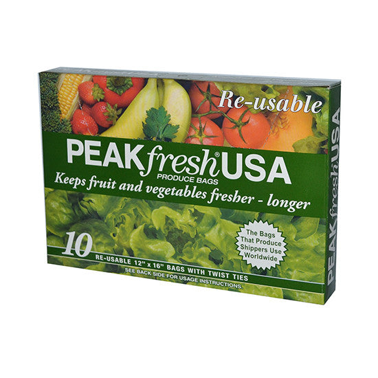 Peak Fresh Produce Bags 12 x 16""
