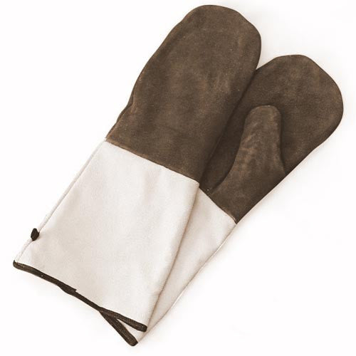 Suede Oven Mitts - 1 Pair