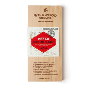 Cedar Wood Grilling Planks (2pcs)