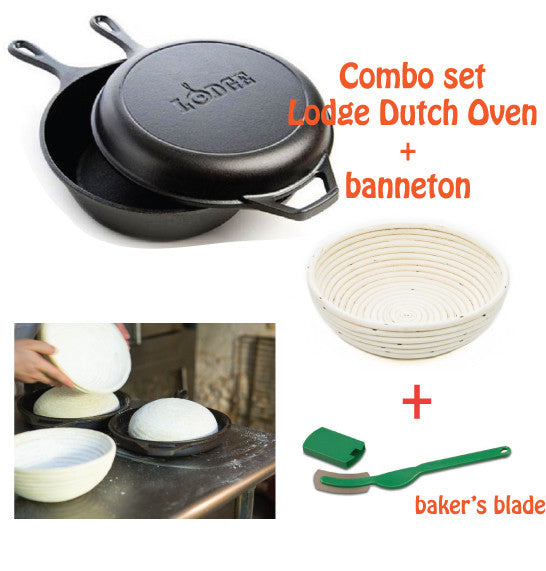 Cast Iron Dutch Oven Combo set - Limited time offer!