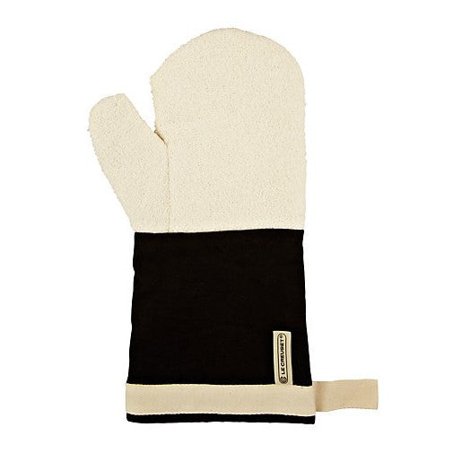 Canvas Oven Mitts - Black