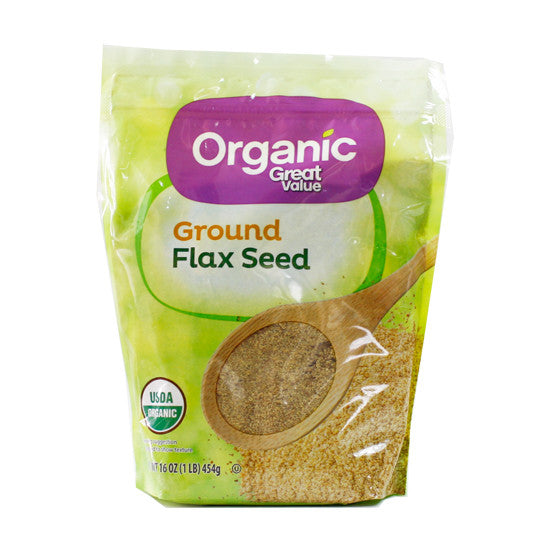 Organic ground flax seed