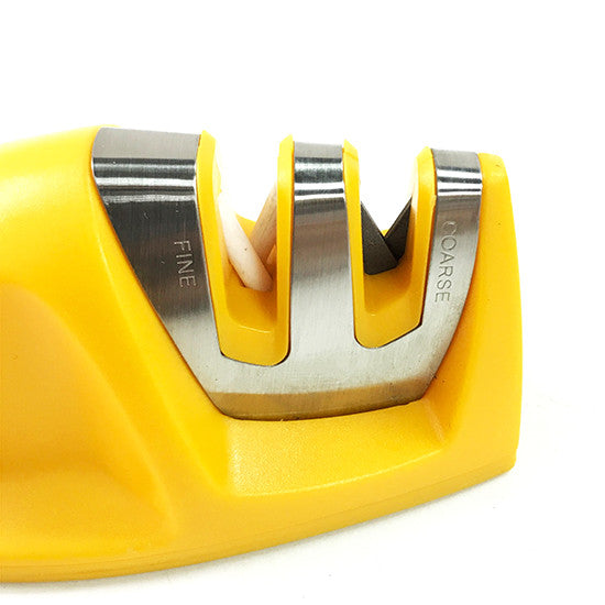 Edge Grip 2 Stage Knife Sharpener , Yellow
