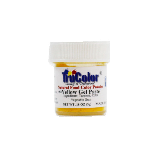 Natural Gel Paste Powder - Yellow