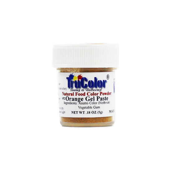 Natural Gel Paste Powder - Orange