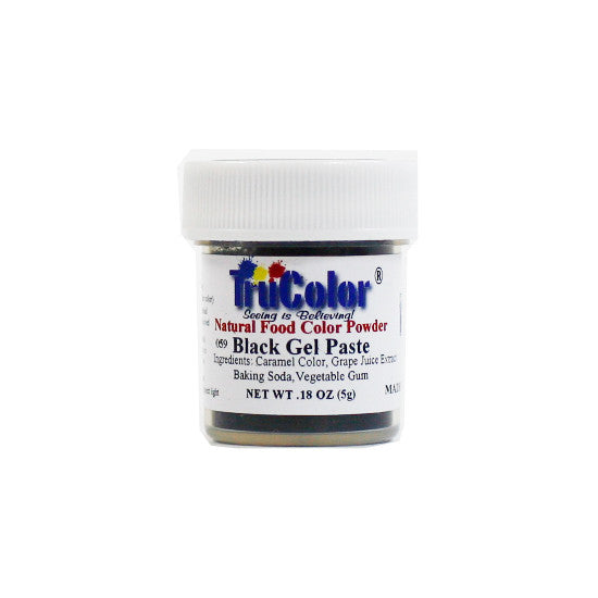 Natural Gel Paste Powder - Black