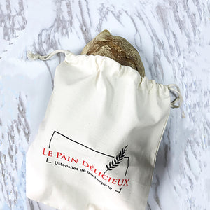 Natural Cotton Bread Bag