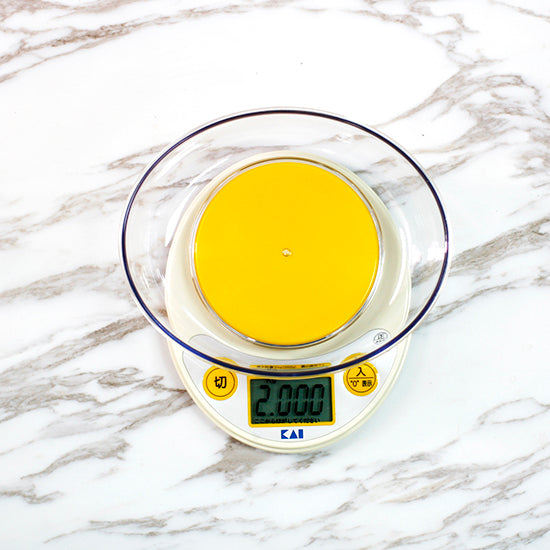 Digital kitchen Scale 2kg with Removable Bowl,
