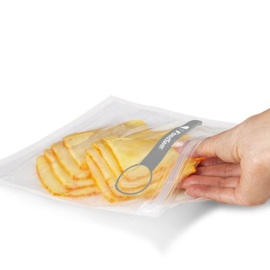 Quart size 18 Counts reusable vacuum zipper bag