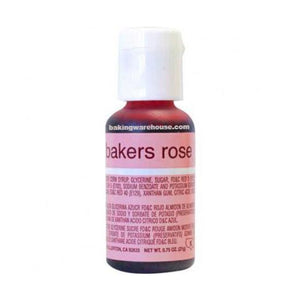 Chef Master baker rose 玫瑰紅膏狀色素