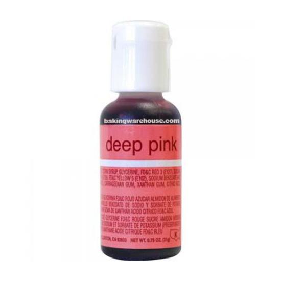 Deep Pink color gel -Chef Master