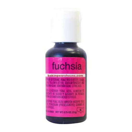 Fuchsia color gel -Chef Master