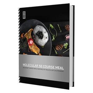 Molecular Gastronomy Book with 50 recipes