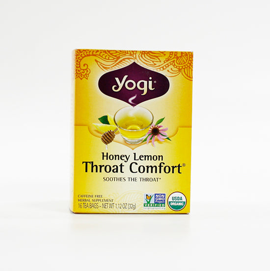 Yogi Throat Comfort Honey Lemon Tea bags
