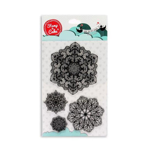 Stamp a cake - Doily Mat Lace