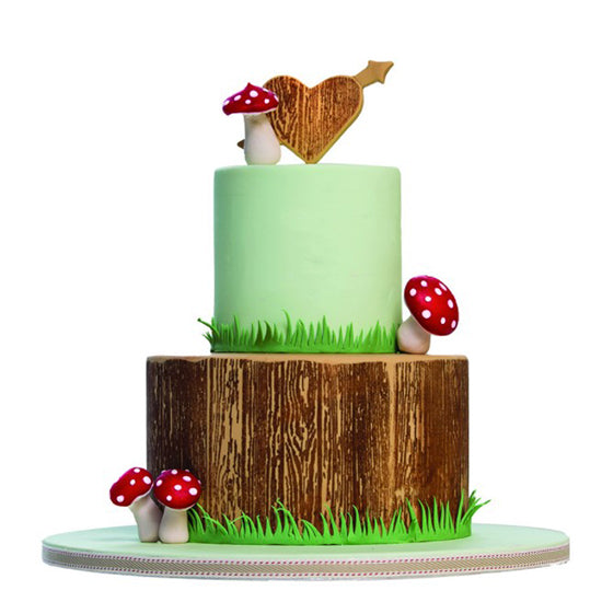Stamp a cake - Wood & Scirpt