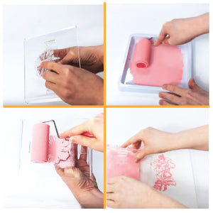 Stamp a cake - Disposable Ink Tray