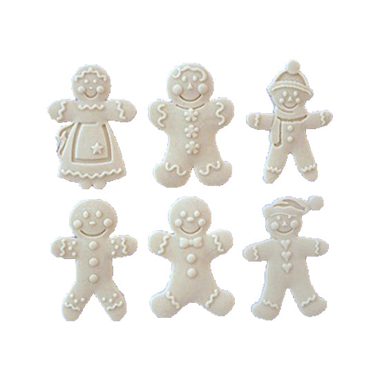 Silicon gum paste mold-Ginger man