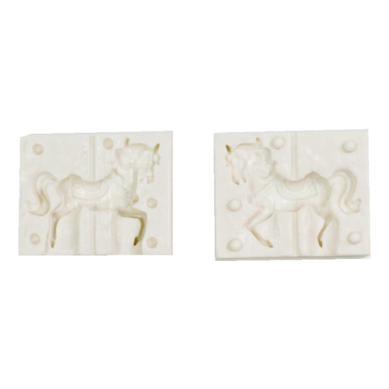 Silicon gum paste mold- horse 3D