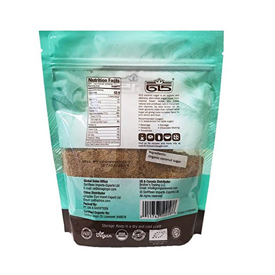 Organic Coconut Sugar USDA