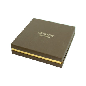 Chocolate Praline Box-Brown for 9 pieces praline