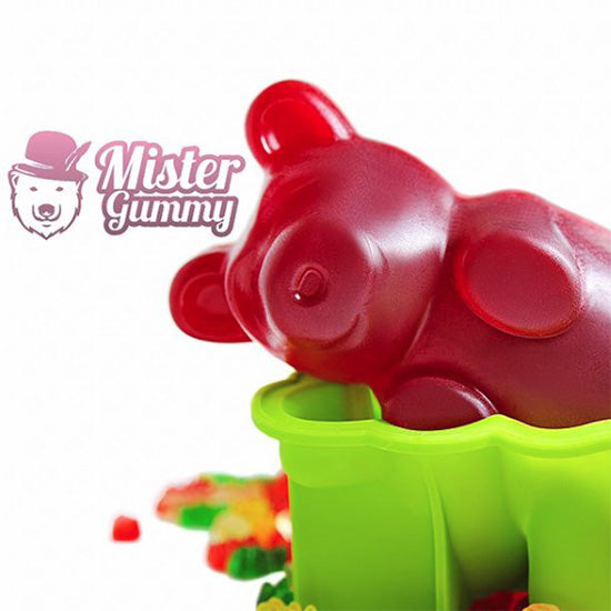 Gummy Bear Mold -Red