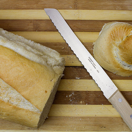 Nogent Bread Knife wooden handle