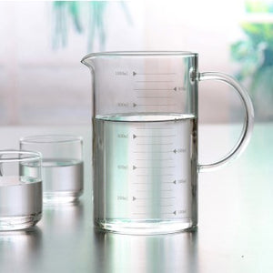 High Heat resistant measuring glass