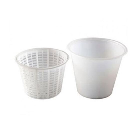 Small Ricotta Basket with container