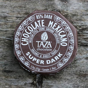Taza Chocolate 85% | Stone Ground Chocolate